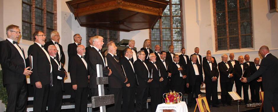 Byzantijnse zang Tweede Paasdag in Castricum - def