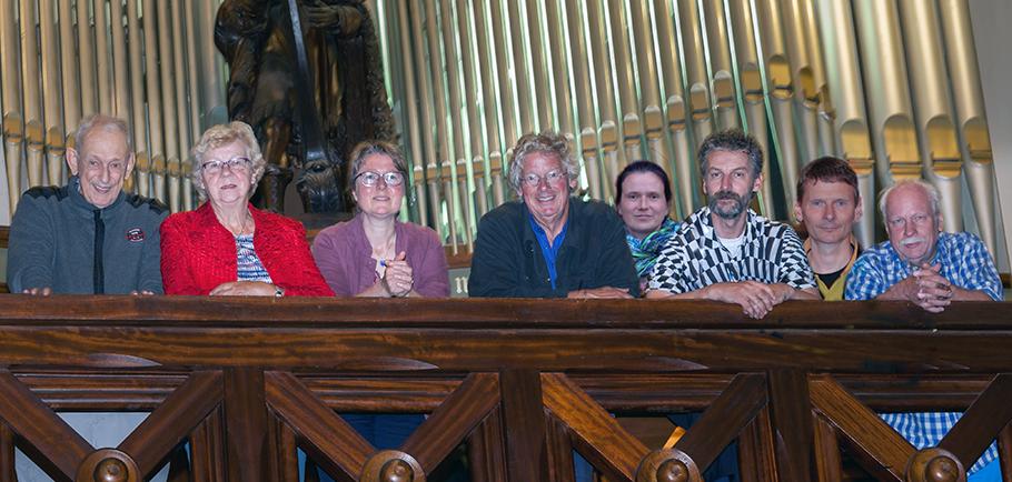 Concert 7 organisten 1 zangeres in Castricum 29-09-2019